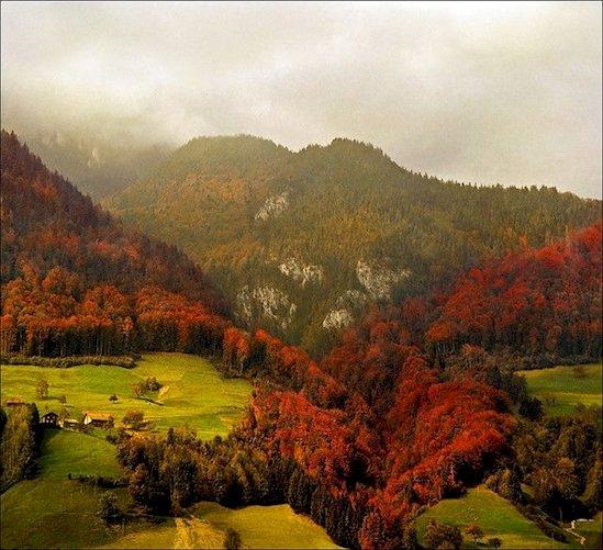 11. 瑞士阿爾卑斯山