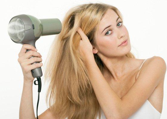 盲點5. 讓頭髮自然干