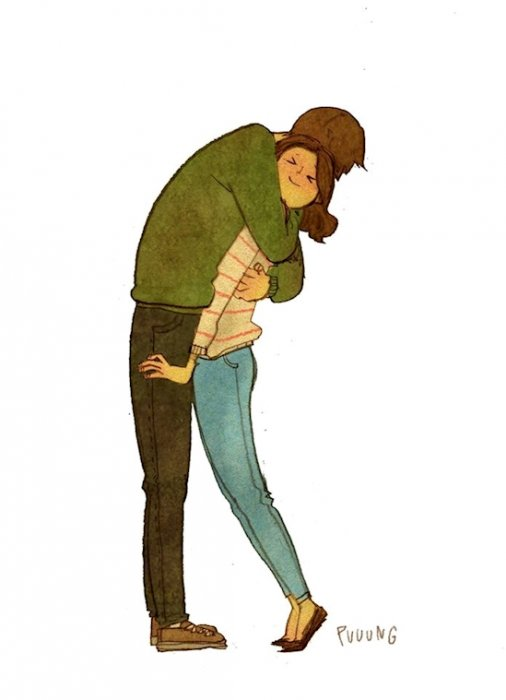 大大的擁抱。