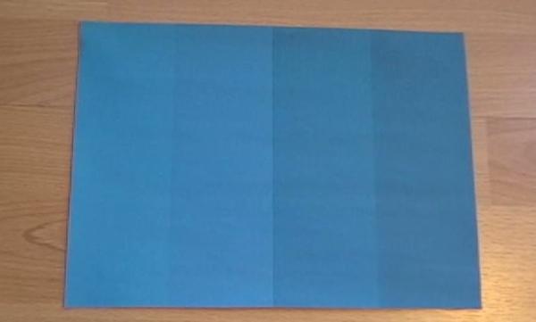 這很明顯看出有深淺不一的4中藍色
