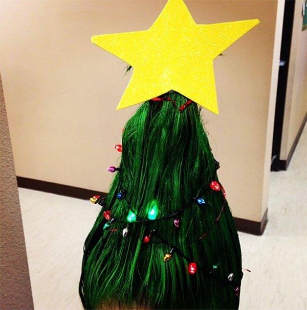#14 最應景的還是這顆聖誕樹了