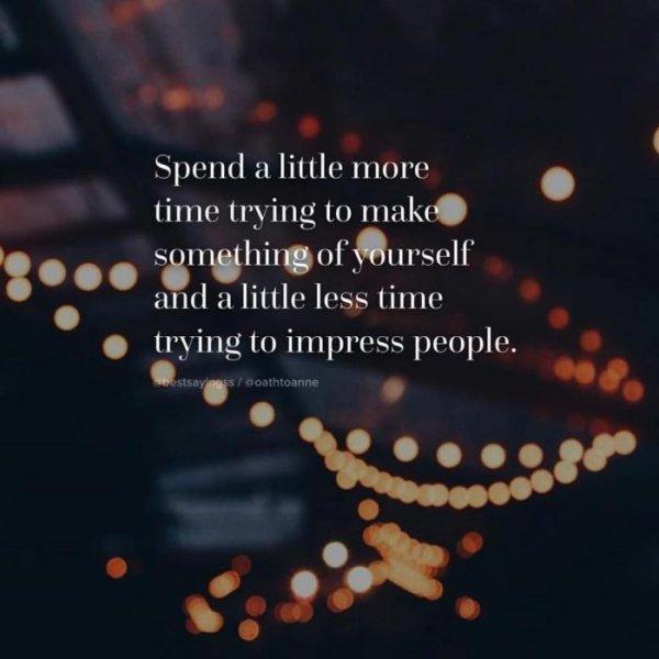 3. 多花時間做自己喜歡的事,減少做只為了取悅別人的事吧。