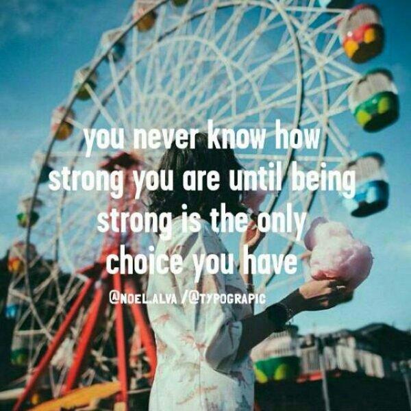 3. 你永遠沒法想像你到底能夠多強,直到你面對更大的挑戰。