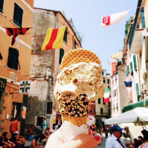 12. 開心果冰淇淋, 義大利