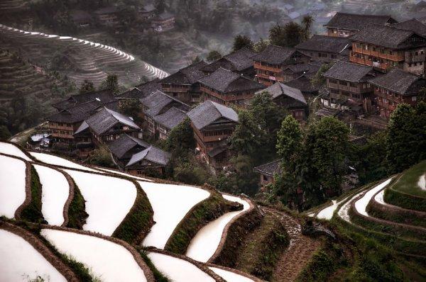 15. 中國山村