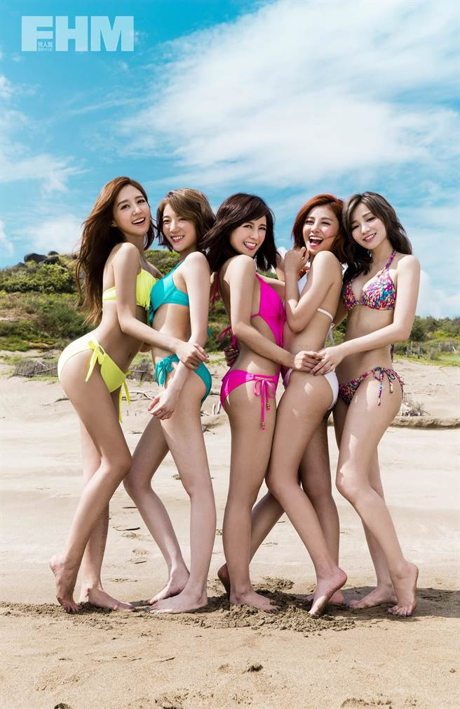 說是要登大人,但五位女生即便換上比基尼,仍然不改小女孩的活潑個性,...