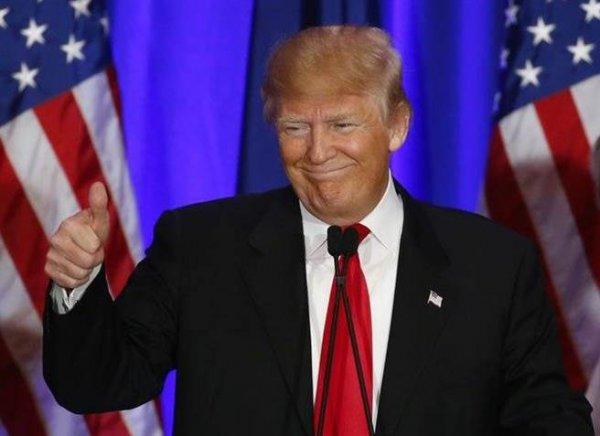 川普競選團隊在選舉結果出爐前,已經高調在自己的官方頻道預告會進行勝...