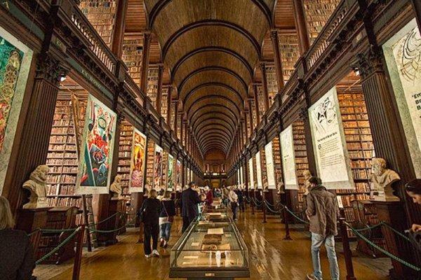 聖三一學院圖書館愛爾蘭