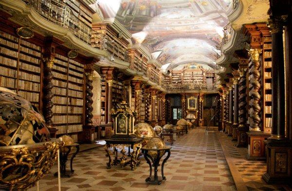 捷克共和國的布拉格克萊門特圖書館