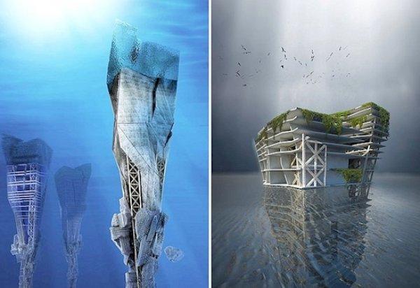 2. 海洋高楼垃圾填埋场