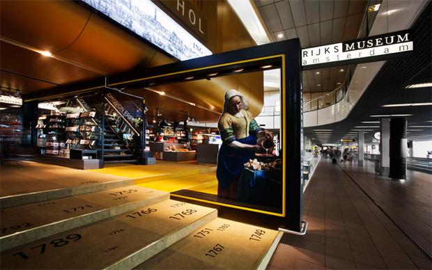 7. 阿姆斯特丹是倫勃朗文化遺產的發源地;阿姆斯特丹史基浦機場裡設立了...