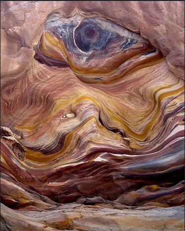 6. 彩色峽谷,埃及西奈半島