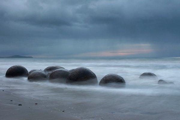 4. 摩拉基巨石,紐西蘭