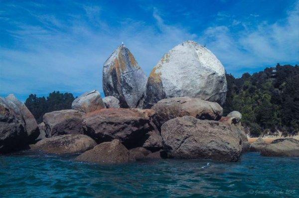 12. 拆分蘋果岩,紐西蘭