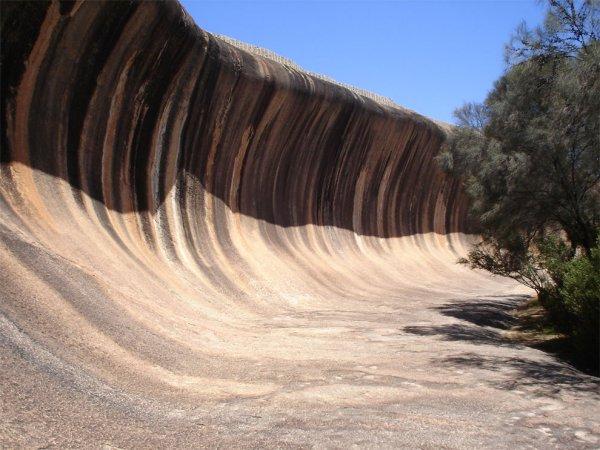 3. 波浪岩,西澳大利亞