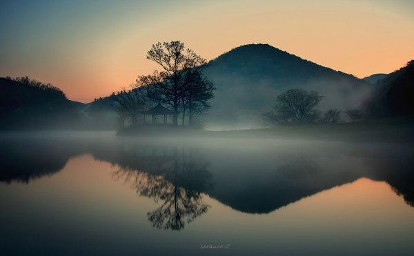 美麗的早晨 용비지의 아름다운 아침