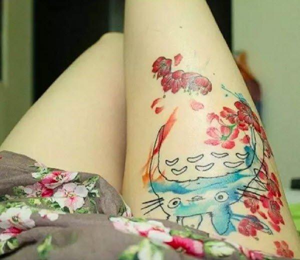 15. 龍貓和美麗的櫻花