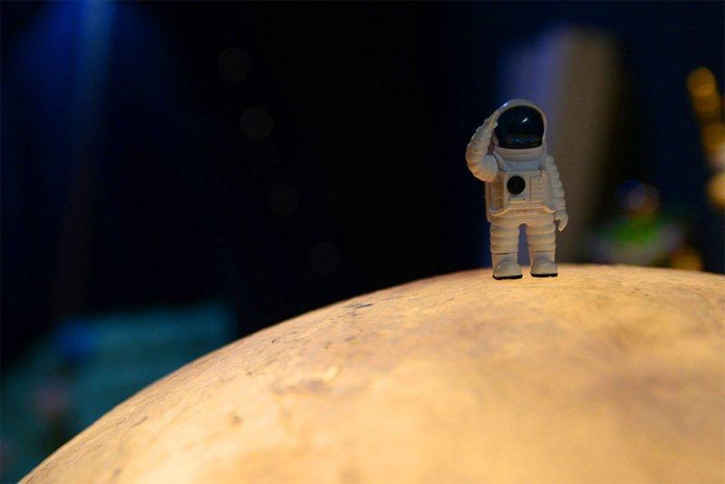 你好,我叫太空人。「我的一小步,人類的一大步」
