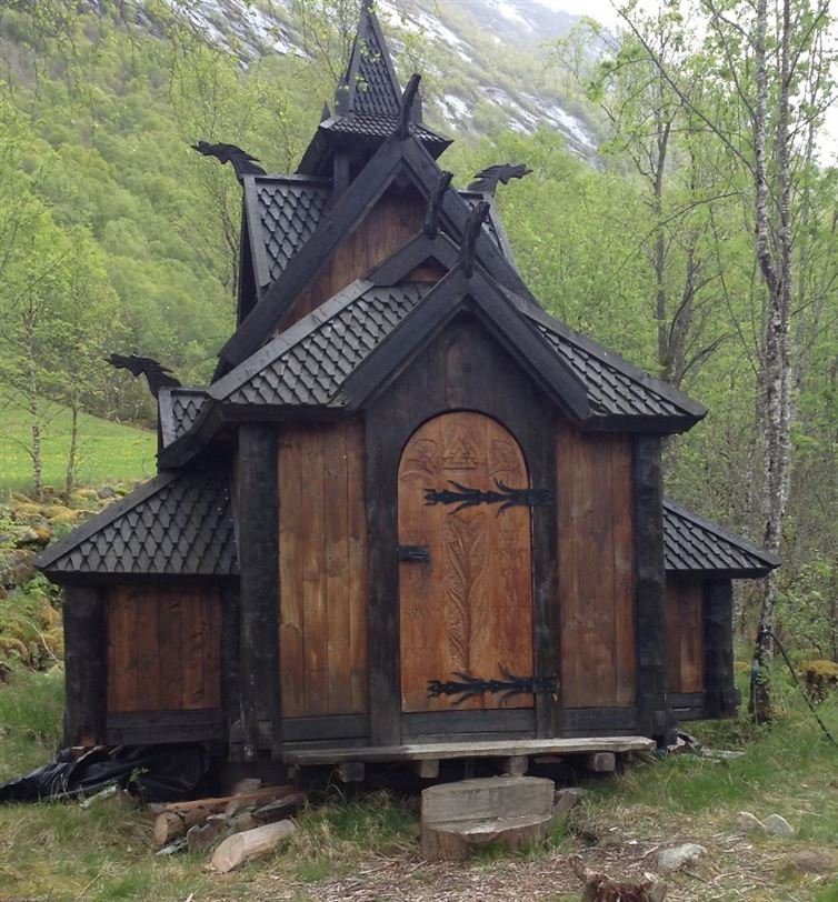 20. 奧特內灣的安德斯小木板教堂