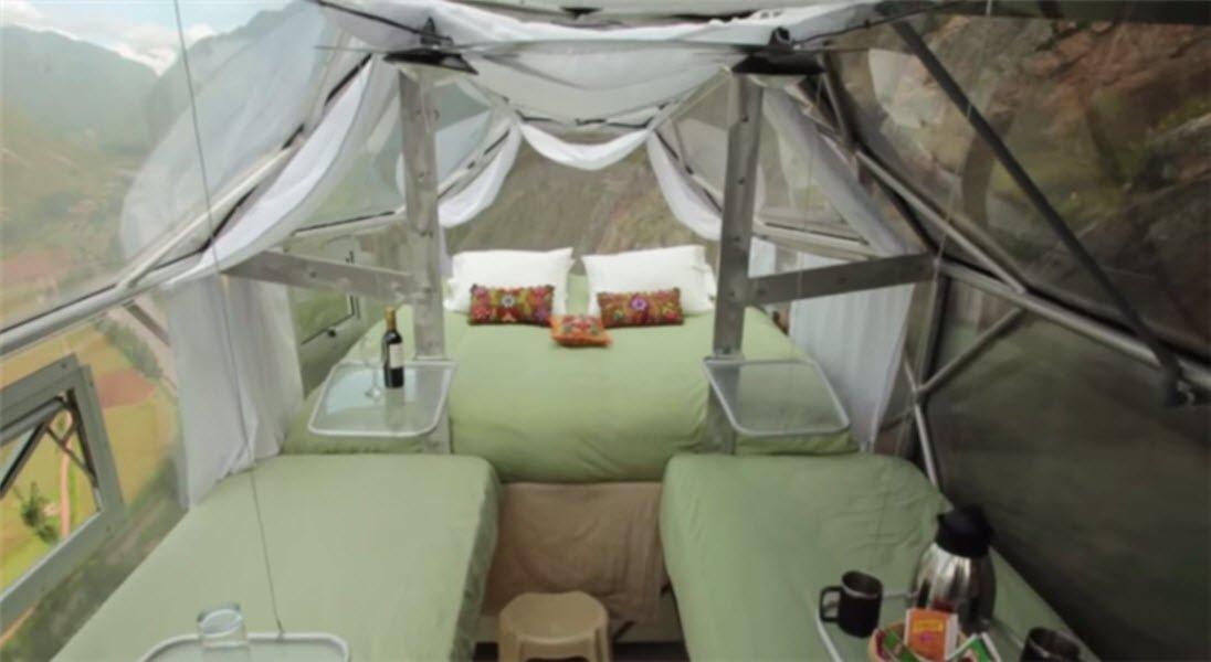 這就是臥艙的內觀。