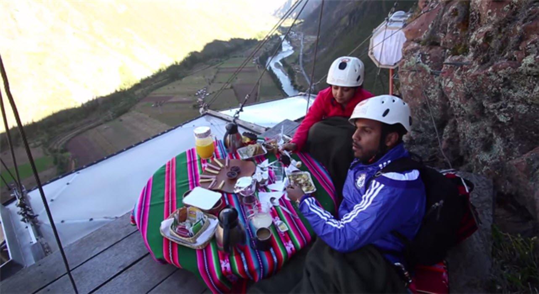 你可以想像在這樣的景色下共進早餐嗎?