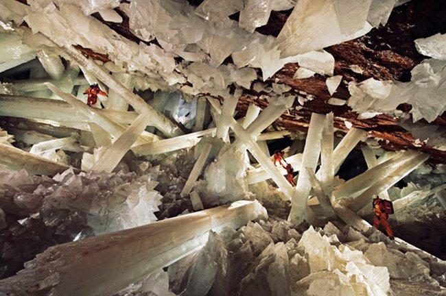 14. .耐擦洗水晶洞穴,墨西哥