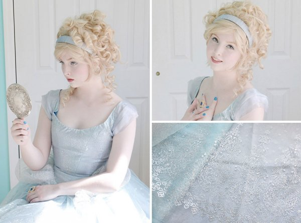 「我在一月開始縫製一件禮服, 目前還未完成。 但我希望能儘快完成它。...