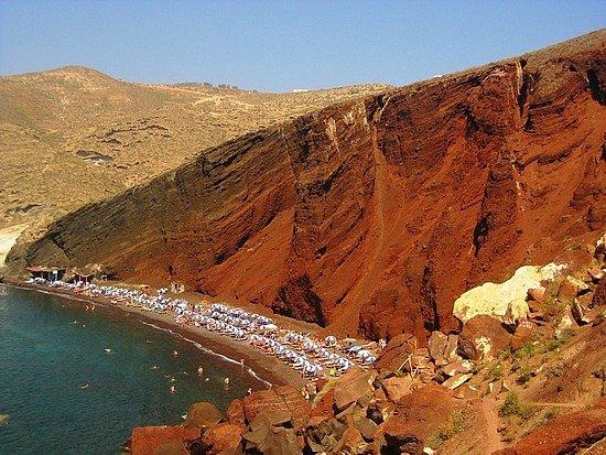 14. 希臘紅沙灘