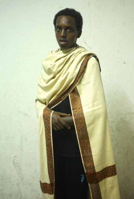 索馬利亞傳統服裝, 是她已故的父親所贈。