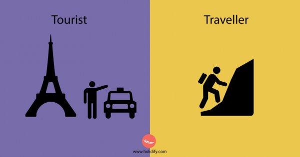 7) 觀光客 Vs 背包客