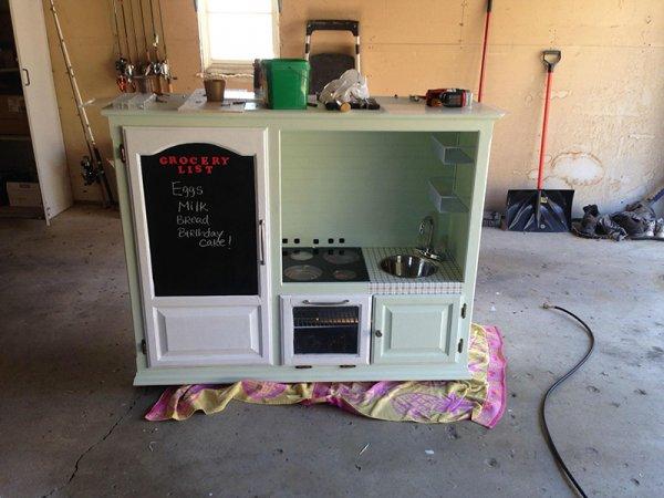 廚房玩具的完成品 !