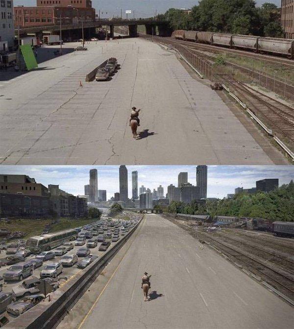 這幾乎已經把整個城市都換掉了吧