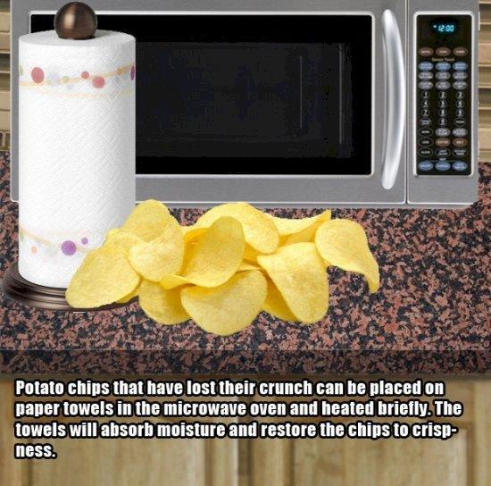 4. 香脆的薯片