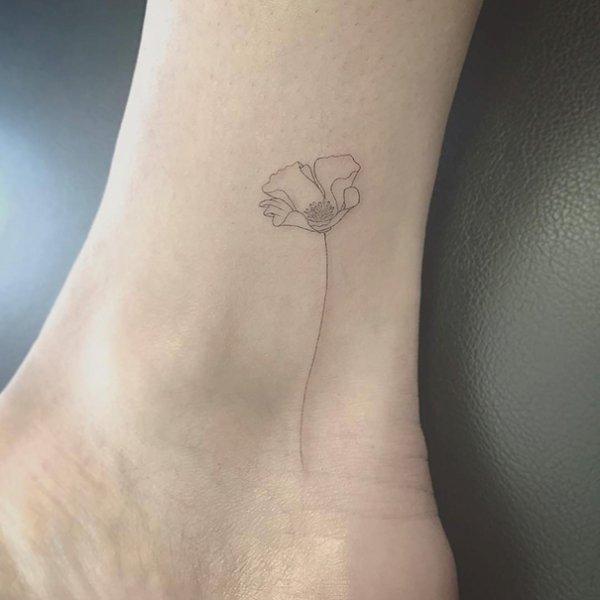 3) 隨著花的路上