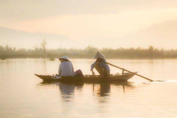 河上寧靜的時刻