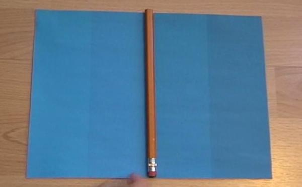 再把筆換到另兩種藍色中間,效果也是一樣