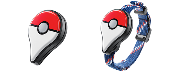 更讓人驚訝的是,他們還開發出專屬裝備《Pokémon GO Plus》。戴上這個裝備後...