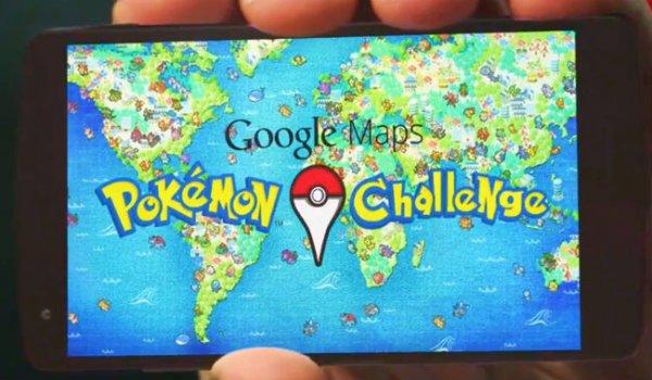 Google Map在2014年推出了一個視頻,說可以用手機透過Google Map程式就啟動《神...