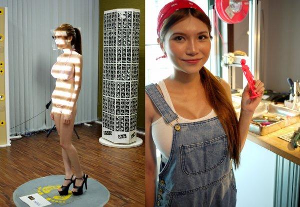 由於在深圳的緣故,她對硬體行業以及3D列印也比較熟悉。她還通過3D掃描...