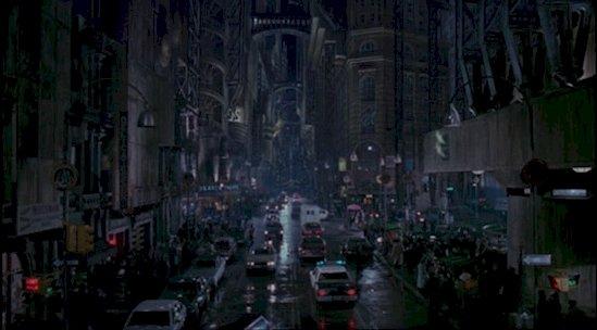 回到1989年, 這裡感覺就像走入高譚市。