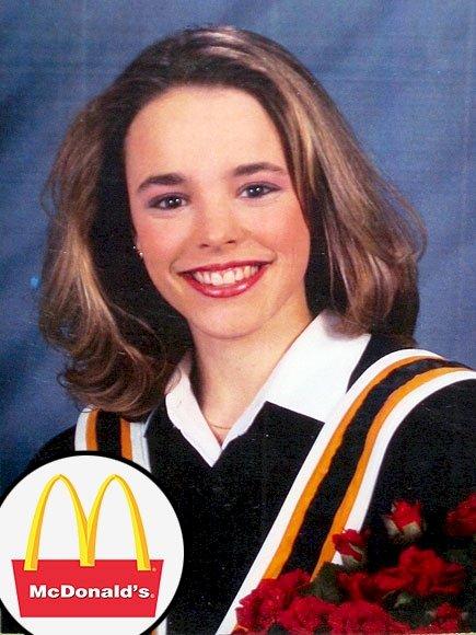 2. 好萊塢明星瑞秋∙麥克亞當斯在麥當勞起步