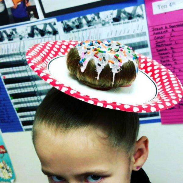#4 想吃我。。。甜甜的頭髮嗎?