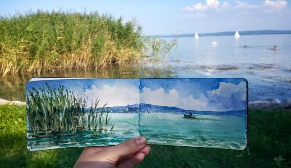 匈牙利巴拉頓湖