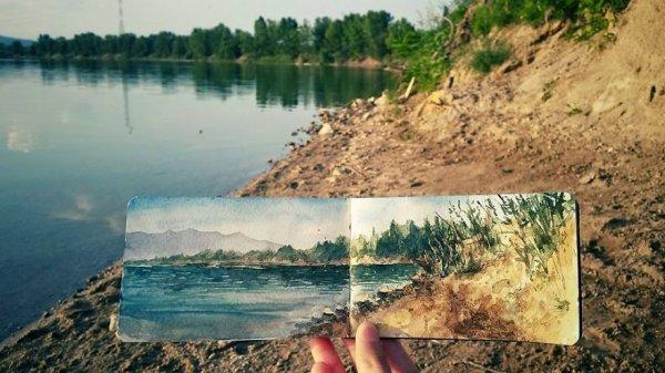 匈牙利的礦湖