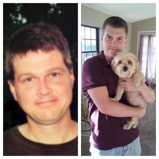 17. 父親(左)和兒子(右)同樣是在25歲。