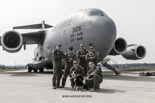K-9派珀熱愛軍隊, 並利用每一個機會感謝那些服務。 至於制服上的那些職...