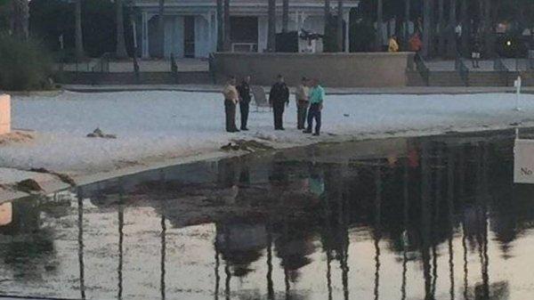 在案發現場的湖邊只有告示牌寫著「禁止游泳」,沒有其他的提示警告了。...