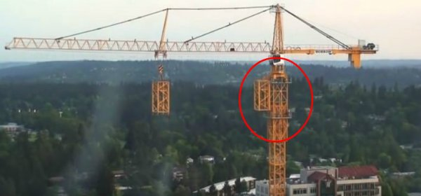 塔吊是怎樣越升越高呢?