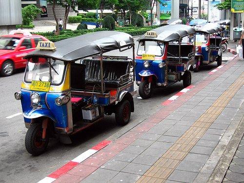 曼谷計程車也上榜