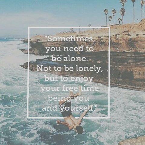 4. 個人空間跟孤獨不一樣,有時候你只是需要自己的時間做自己喜歡的事情...